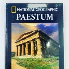 Libros: PAESTUM ARQUEOLOGÍA NATIONAL GEOGRAPHIC. Lote 267681009
