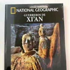 Libros: GUERREROS DE XI'AN ARQUEOLOGÍA NATIONAL GEOGRAPHIC- NUEVO. Lote 267747089