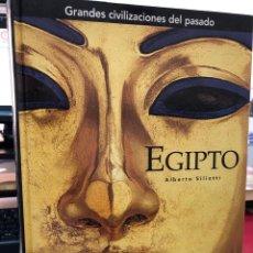 Libros: EGIPTO GRANDES CIVILIZACIONES DEL PASADO - GRAN FORMATO. Lote 269654853