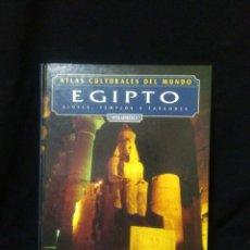 Libros: EGIPTO ,DIOSES ,TEMPLOS Y FARAONES. Lote 269836043