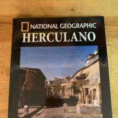 Libros: COLECCIÓN ARQUEOLOGÍA NATIONAL GEOGRAPHIC HERCULANO. Lote 277538553