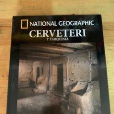 Libri: COLECCIÓN ARQUEOLOGÍA NATIONAL GEOGRAPHIC CERVETERI Y TARQUINIA. Lote 277539483