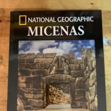 Libros: COLECCIÓN ARQUEOLOGÍA NATIONAL GEOGRAPHIC MICENAS. Lote 277539588