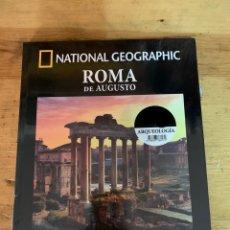 Libros: COLECCIÓN ARQUEOLOGÍA NATIONAL GEOGRAPHIC ROMA DE AUGUSTO. Lote 277539983