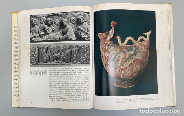 Libros: THE MEANING OF ARCHAEOLOGY. MAXIMO PALLOTINO. - Foto 4 - 288479293