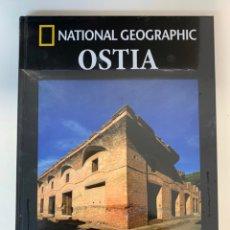 Libros: COLECCIÓN ARQUEOLOGÍA NATIONAL GEOGRAPHIC OSTIA - NUEVO. Lote 288858323