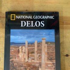 Libros: COLECCIÓN ARQUEOLOGÍA NATIONAL GEOGRAPHIC DELOS. Lote 289446158