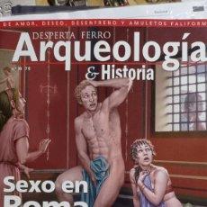 Libri: DOS O MÁS REVISTAS ENVÍO GRATIS. DF ARQUEOLOGÍA 39. SEXO EN ROMA. Lote 291851733