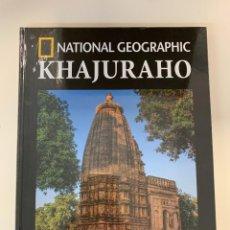 Libros: KHAJURAHO - COLECCIÓN ARQUEOLOGÍA NATIONAL GEOGRAPHI. Lote 295583723
