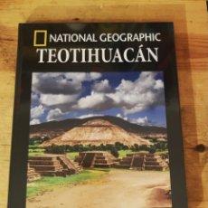 Libros: TEOTIHUACAN- COLECCIÓN ARQUEOLOGÍA NATIONAL GEOGRAPHIC- NUEVO. Lote 295608813