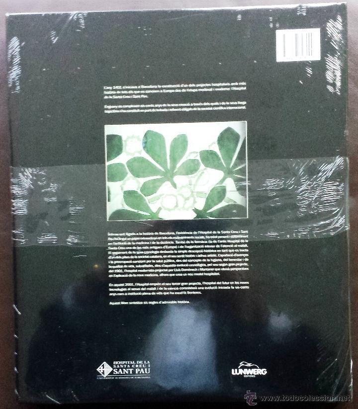 Libros: LHOSPITAL DE LA SANTA CREU I SANT PAU 1401-2001 Nuevo Tapa dura sexto Centenario En Catalán - Foto 2 - 52469145