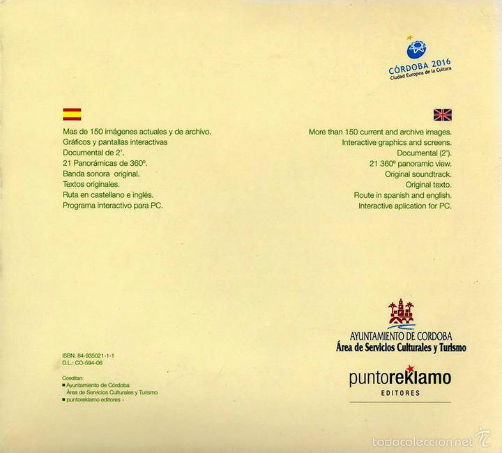 Libros: EL ALCAZAR DE LOS REYES CRISTIANOS (CD-ROM MULTIMEDIA) - Foto 2 - 57436737