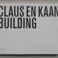 Libros: CLAUS EN KAAN BUILDING. Lote 92300890