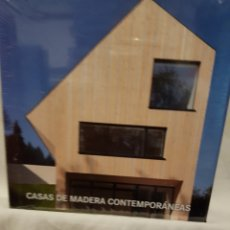 Libros: CASAS DE MADERA CONTEMPORANEAS. Lote 95033652
