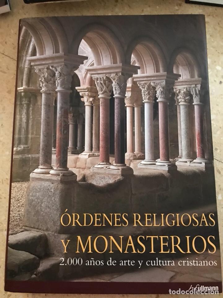LIBRO ÓRDENES RELIGIOSAS Y MONASTERIOS (Libros Nuevos - Bellas Artes, ocio y coleccionismo - Arquitectura)
