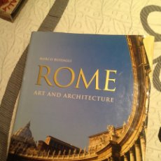 Libros: ROME: ART AND ARCHITECTURE BY MARCO BUSSAGLI. Lote 106560540