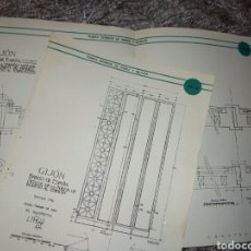Libros: BANCO DE ESPAÑA GIJON DETALLES CONSTRUCTIVOS POR EL ARQUITECTO Y PINTOR LUIS MENENDEZ PIDAL. Lote 106808099