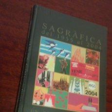 Libros: SAGRAFICA - ILUSTRACIONES 1955 - 2004 DE LA SAGRADA FAMILIA (NUEVO Y PRECINTADO) ANTONI GAUDI. Lote 108399072