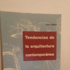 Libros: TENDENCIAS DE LA ARQUITECTURA CONTEMPORÁNEA. Lote 112712048