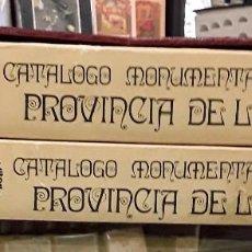 Libros: CATÁLOGO MONUMENTAL DE LA PROVINCIA DE TOLEDO EDICIÓN FASCIMIL . Lote 121237355