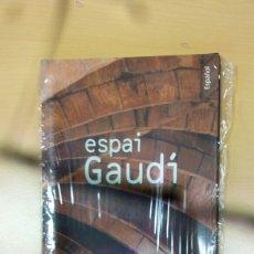 Libros: GUIA PRECINTADA ESPAI GAUDI. Lote 130273522