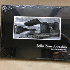 Libros: ZALLA ZINE-ANTZOKIA, IDENTITATE SEINALEAK - SIGNOS DE IDENTIDAD. NUEVO, CON PRECINTO PLÁSTICO.. Lote 133823769