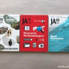 Libros: LOTE DE TRES REVISTAS DE ARQUITECTURA . Lote 133826326