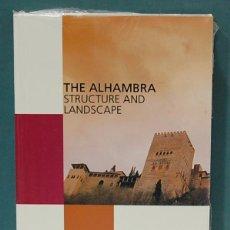 Libros: THE ALHAMBRA, STRUCTURE AND LANDSCAPE. PEDRO SALMERÓN ESCOBAR. LIBRO NUEVO, PRECINTADO. Lote 133886238