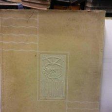 Libros: STQ.RAFAEL DE LA CERDA Y DE LAS BARCENAS.MANCOMUNIDAD DE LOS CANALES...... Lote 145566574