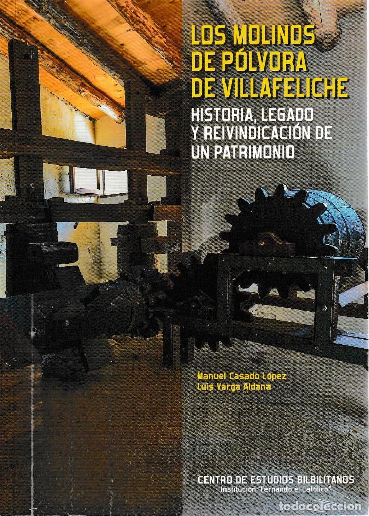 LOS MOLINOS DE PÓLVORA DE VILLAFELICHE (M. CASADO / L. VARGA) I.F.C. 2018 (Libros Nuevos - Bellas Artes, ocio y coleccionismo - Arquitectura)