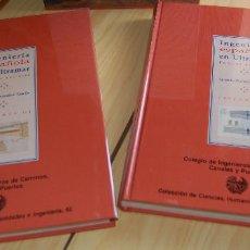Libros: INGENIERÍA ESPAÑOLA EN ULTRAMAR VOL I , II SIGLOS XVI-XIX POR IGNACIO GONZÁLEZ TASCÓN. Lote 148376758