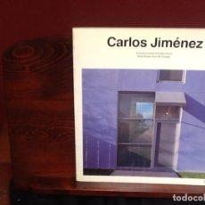 Libros: CARLOS JIMÉNEZ.. Lote 245982345
