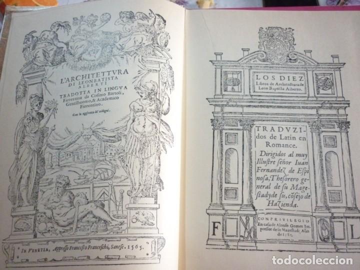 Libros: LA ARQUITECTURA TECNICA EN SUS TEXTOS HISTORICOS. ALBERTI EJEMPLAR NUMERO 1671 - Foto 3 - 163609626