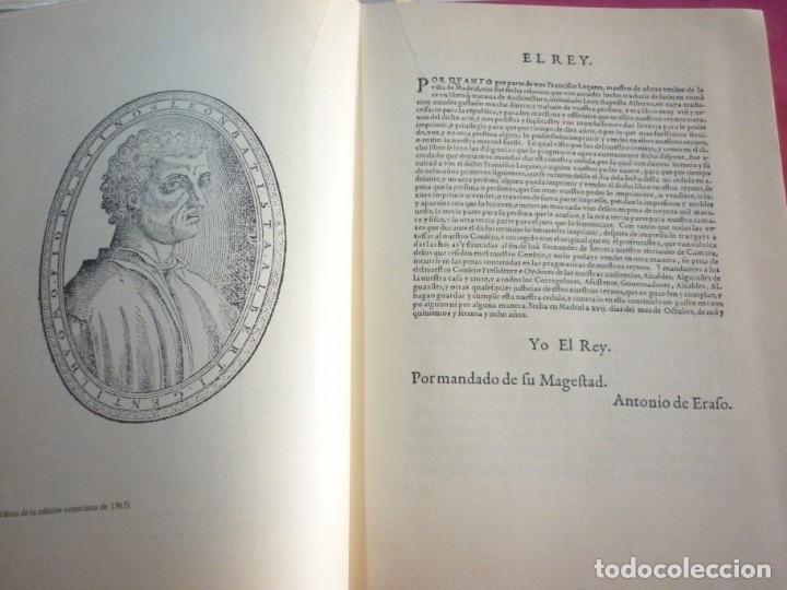 Libros: LA ARQUITECTURA TECNICA EN SUS TEXTOS HISTORICOS. ALBERTI EJEMPLAR NUMERO 1671 - Foto 4 - 163609626