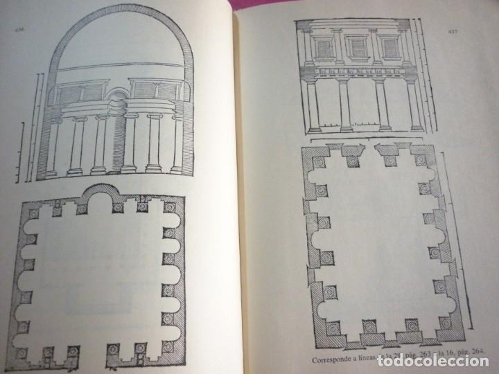 Libros: LA ARQUITECTURA TECNICA EN SUS TEXTOS HISTORICOS. ALBERTI EJEMPLAR NUMERO 1671 - Foto 5 - 163609626