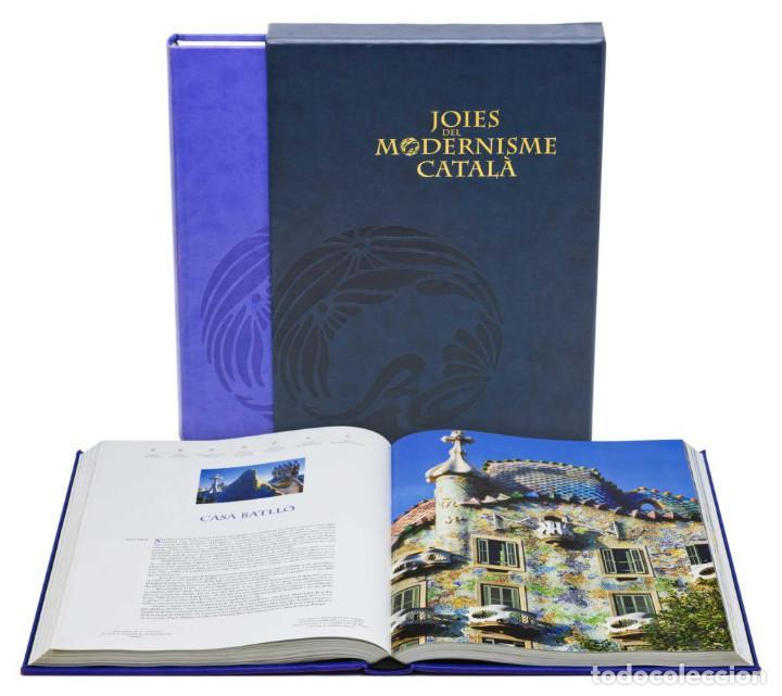 JOIES DEL MODERNISME CATALÀ GRUP ENCICLOPEDIA CATALANA NUEVO EMBALADO LIBRO ARQUITECTURA FOTOGRAFIA (Libros Nuevos - Bellas Artes, ocio y coleccionismo - Arquitectura)