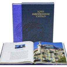 Libros: JOIES DEL MODERNISME CATALÀ GRUP ENCICLOPEDIA CATALANA NUEVO EMBALADO LIBRO ARQUITECTURA FOTOGRAFIA. Lote 165676282