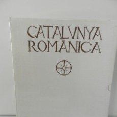 Libros: CATALUNYA ROMÀNICA - VOLUM XIV. ROSSELLÓ ENCICLOPEDIA CATALANA NUEVO A ESTRENAR CAJA PRECINTADA. Lote 165945926