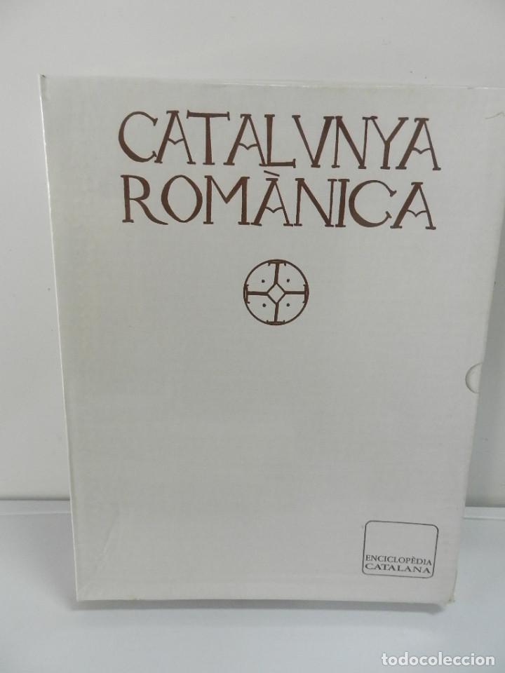 CATALUNYA ROMÀNICA VOLUM XXVII VISIÓ DE SÍNTESI ENCICLOPEDIA CATALANA NUEVO ESTRENAR CAJA PRECINTADA (Libros Nuevos - Bellas Artes, ocio y coleccionismo - Arquitectura)