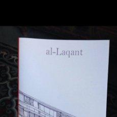 Libros: AL-LAQANT LIBRO SOBRE ALICANTE FOTOGRAFÍA FANZINE ARTE DIBUJO. Lote 187629841