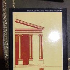 Libros: VITRUVIO. LOS DIEZ LIBROS DE ARQUITECTURA CTURA. ORTIZ Y SANZ,JOSEPH.. Lote 172237358
