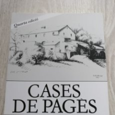 Libros: LIBRO CASES DE PAGÈS 2013 PERE COMAS JOSEP CASTELLS. Lote 172365235
