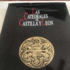 Libros: LIBRO GRAN FORMATO LAS CATEDRALES DE CASTILLA Y LEÓN. Lote 174152202