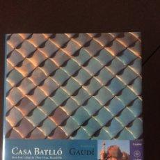 Libros: LIBRO CASA BATLLO GAUDI. Lote 174570385