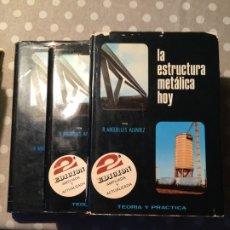 Libros: LA ESTRUCTURA METÁLICA HOY - 3 TOMOS - R. ARGUELLES ALVAREZ - LIBRERÍA TÉCNICA BELLISCO.. Lote 177420942