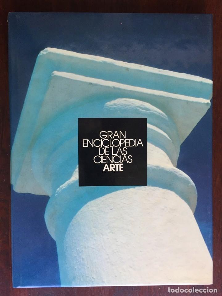 CIENCIAS DEL ARTE. COLECCIÓN GRAN ENCICLOPEDIA DE LAS CIENCIAS. ARQUITECTURA, ESCULTURA Y PINTURA, (Libros Nuevos - Bellas Artes, ocio y coleccionismo - Arquitectura)