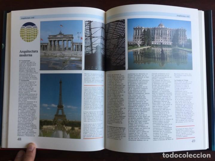 Libros: Ciencias del Arte. Colección gran enciclopedia de las ciencias. arquitectura, escultura y pintura, - Foto 15 - 181408032