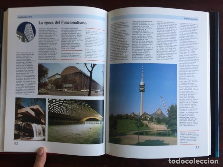 Libros: Ciencias del Arte. Colección gran enciclopedia de las ciencias. arquitectura, escultura y pintura, - Foto 16 - 181408032