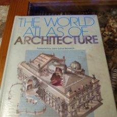 Libros: THE WORLD ATLAS OF ARCHITECTURE. Lote 182622916