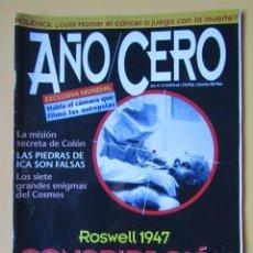 Libros: AÑO CERO - NÚM. 63 (¿CONSPIRACIÓN EXTRATERRESTRE?) - DIVERSOS AUTORES. Lote 185708798